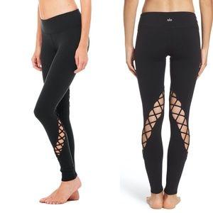 Alo Yoga Black Entwine Leggings Size Small